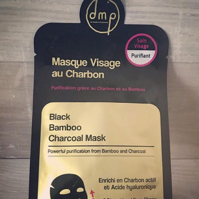 Le masque au charbon de DMP: la très bonnesurprise!