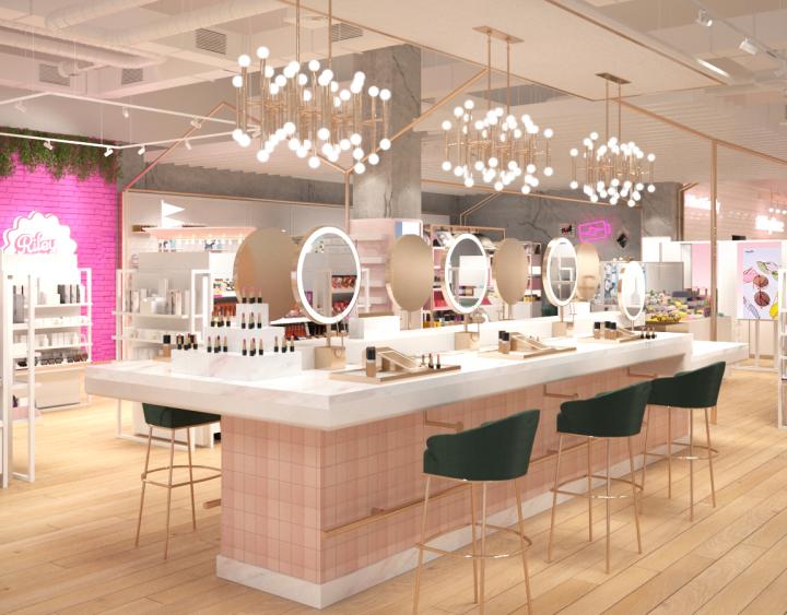 Forever 21 ouvre son premier magasin dédié à labeauté