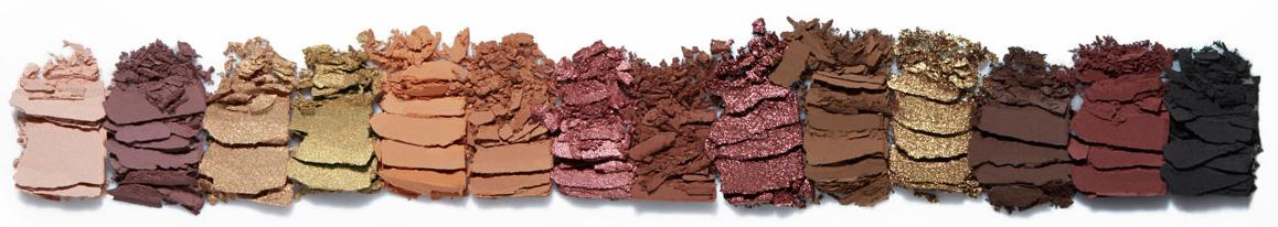 Anastasia Beverly Hills Soft Glam Eyeshadow Palette swatches