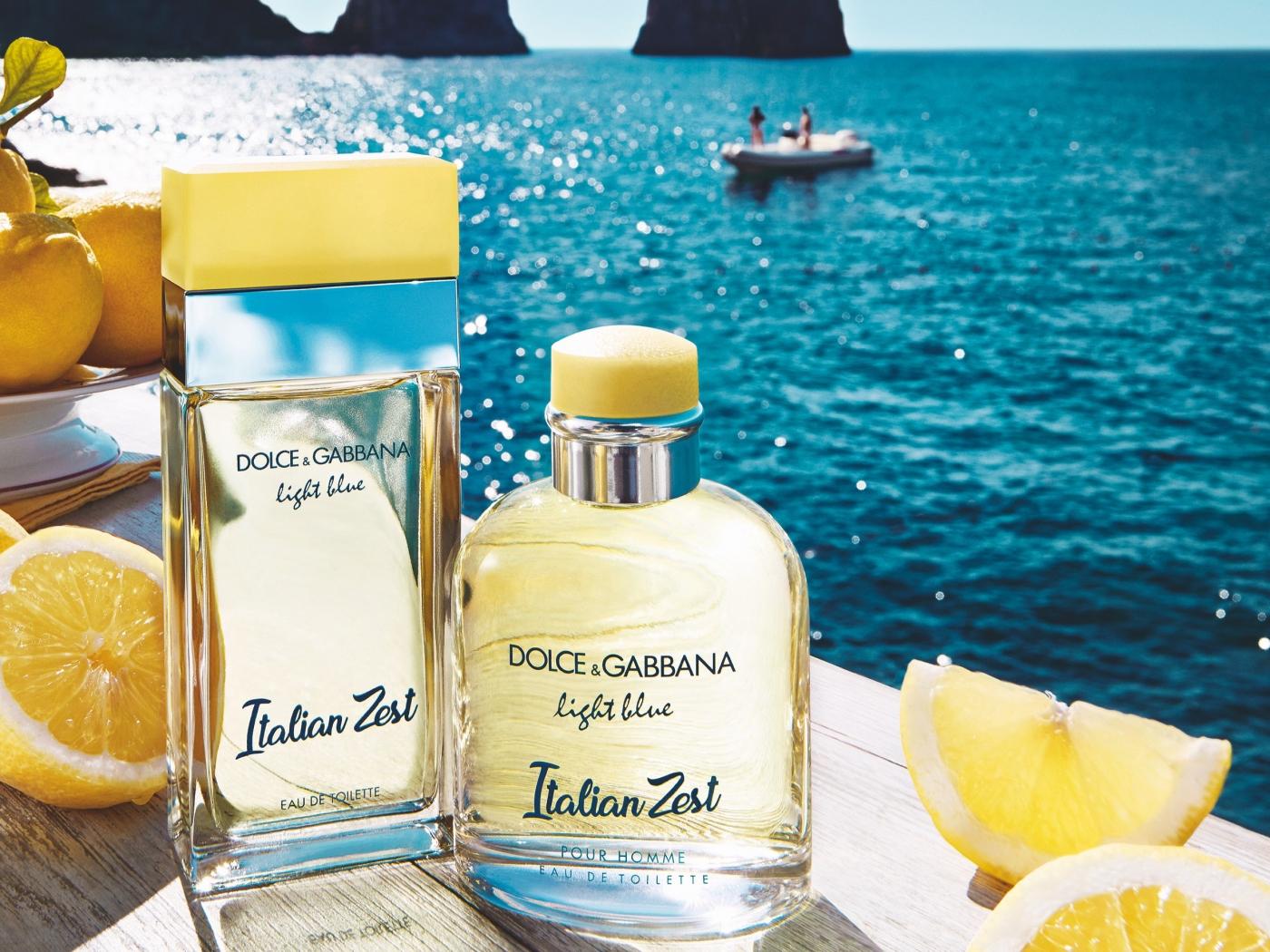 Italian Zest, la nouvelle fragrance estivale de Dolce   Gabbana ... 5ad6072d5d1a