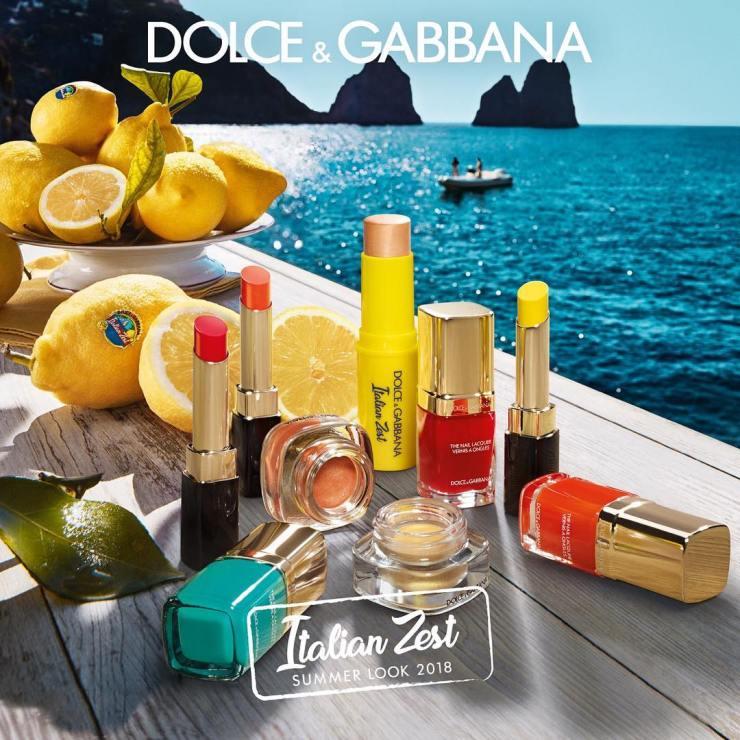 Dolce Gabbana Italian Zest Makeup Collection