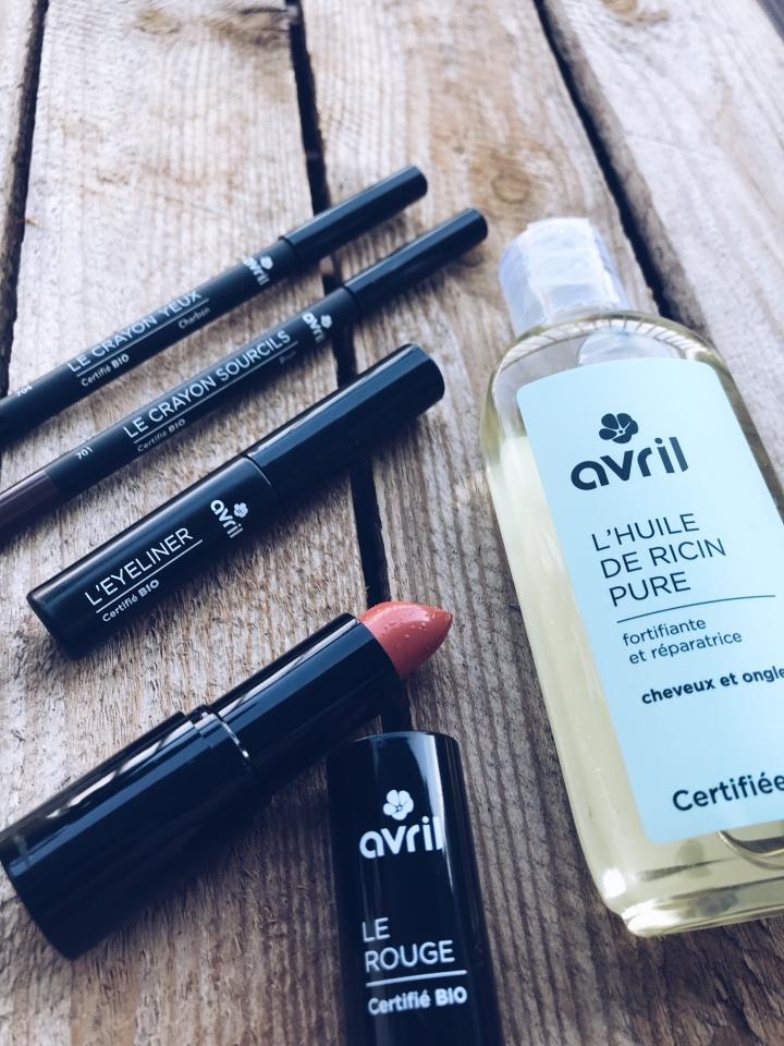 Découverte de Avril, la marque de cosmétique bio à prixmini