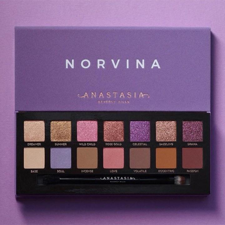 Norvina, la nouvelle palette Anastasia Beverly Hills est une déclarationd'amour